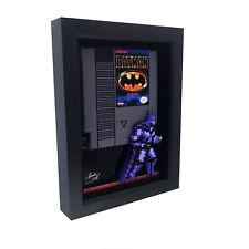 Nintendo Batman 1989 Video Game Art Decor Cartridge 3D Art NES Print 8 Bit Retro