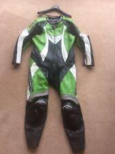 Teknic Mens Leather One Piece Motorbike Suit Size UK 48 EU 58 Motorcycle Racing