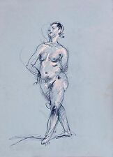 Keith Gunderson Female Nude Life Drawing