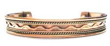 Pure Copper Men Women Health Care Magnetic Therapy Open Cuff Bracelet Arthritis
