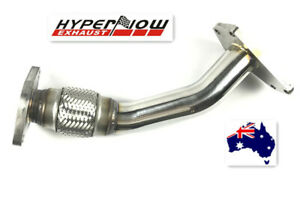 out stock-Subaru WRX STI Forester Cat-Deleted Turbo UP Pipe Exhaust 304 Grade