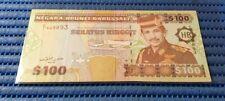 HB Negara Brunei Darussalam $100 Seratus Ringgit Note C/1 948893 Dollar Currency