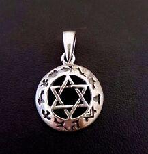 Jewish Star of Magen David Pendant # Sterling Silver 925 Judaica