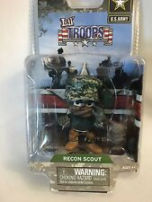 US ARMY LIL' TROOPS MILITARY ACTION FIGURE - RECON SCOUT