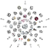 Fimaly Love Charms Bead  Fit 925 Silver Sterling Bracelets Necklace