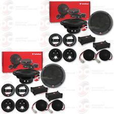 "4 x ROCKFORD FOSGATE P165-SE 6.5"" 2-WAY CAR AUDIO COMPONENT SPEAKER SYSTEM"