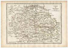 Mansfeld Kupferkarte Crepy/Le Rouge 1759