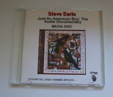 Steve Earle - Just An American Boy - Promotional Media Disc - 2003 - edc