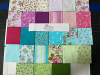 Rose Whispers by Eleanor Burns 27 Fat Quarters Benartex