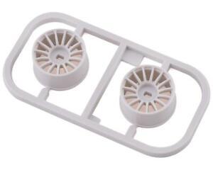 Kyosho Mini-Z AWD Multi Wheel (2) (White) (Wide/0 Offset) [KYOMDH100W-W0]