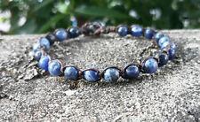 Kyanite real stone bracelet Men and Women bracelets,beaded bracelets,fashion