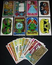 PEE WEE HERMAN © 1988 Topps Complete 22 Activity Card Set