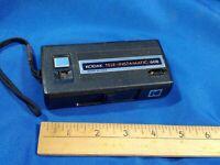 Vintage 1970s Black Kodak Tele Instamatic 608 Film Camera 110 Telephoto Untested