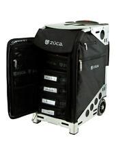 Zuca Aritst Pro Bag - Black Insert And Silver Frame