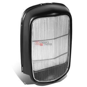 PAINTED RADIATOR GRILLE SHELL+POLISHED STEEL GRILL INSERT FOR 1932 MODEL B/BB/18