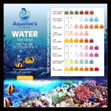 9 in1 SALTWATER Aquarium Test Strips 100 Pack pH Nitrate Nitrate KH GH Hardness