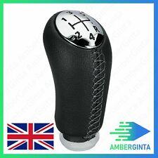 5 Speed Gear Shift Knob PU Leather For RENAULT Laguna Megane 2 Clio 3 03-09