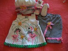 National Baby Pageant Casual Wear,Spring, OOC  3-9 mts. 5 pc. Winner! All U Need