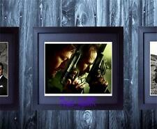 The Boondock Saints 2 Flanery Reedus SIGNED & FRAMED 10x8 REPRO PHOTO PRINT