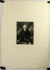 Gravure au pointillé, Portrait de Henry Hoare