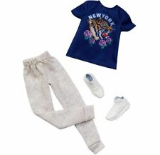New Barbie Ken Fashionistas Clothes outfit. New York shirt, pants and sneakers.