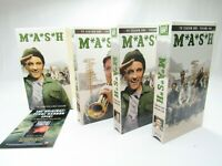 MASH Season 1 VHS 2002 Boxset 3 Tape Videos Korean War Doctors Alda Rogers Swit