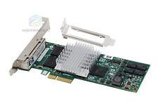 HP NC364T EXPI9404PTL Pro/1000 PT 4-Port Gigabit PCI-E Ethernet Server Adapter