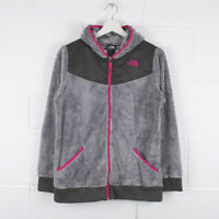 Vintage THE NORTH FACE Grey Fleece Jacket Size GIRLS Youth XL /R61054