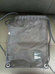 SMALL AUTHENTIC NAVY NIKE GYM SACK Bag with drawstrings