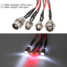 4Leds LED Light Set Headlight Taillight for HSP 1/10 RC Model Car Truck Crawler