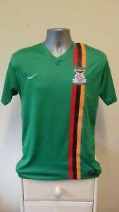 Replica Zambia Home Football Shirt Jersey 2012 Small