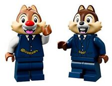 LEGO® Disney Train Station minifigs - Chip and Dale from 71044