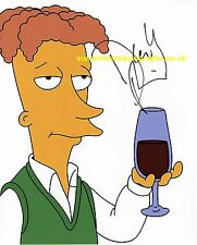 David Hyde Pierce Simpsons Cecil Brother of Sideshow Bob Autograph UACC