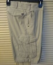 Men's Zoo York Stretch Cargo Shorts, Size 38
