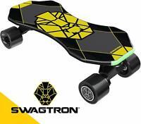 Swagtron NG3 Electric Skateboard Teens Smart Sensors Mini E-Cruiser Skateboard