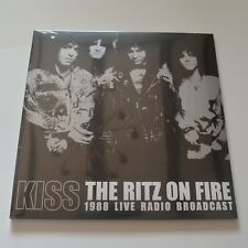 KISS - THE RITZ ON FIRE 1988 LIVE RADIO BROADCAST- 2LPs COLOR VINYL NEW & SEALED