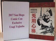 SDCC Comic Con 2017 Teenage Mutant Ninja Turtles Usagi Yojimbo Lot A SIGNED