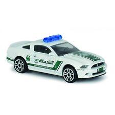 Ford Mustang Boss 302, 6/10 Majorette Dubai Police Super Cars 204A 1:64 2018