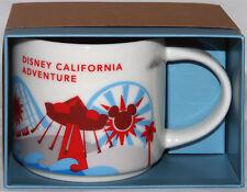NEW! Disney California Adventure Starbucks You Are Here 2nd Edition Mug 2017 MIB