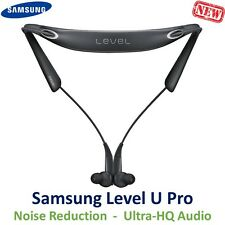 Samsung Level U PRO Bluetooth In-Ear Headset UHQ Audio Headphones EO-BN920 Black