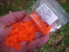 Heavy sinking Fishing Premium Trout/Salmon/Steelhead Beads 8mm 15ct frost orange