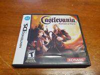 Castlevania: Portrait of Ruin (Nintendo DS) CIB Complete Authentic TESTED