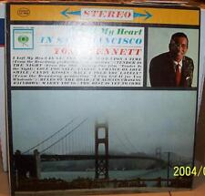 Tony Bennet I Left My Heart In San Fransico Columbia CS 8669 Stero 33 LP Record