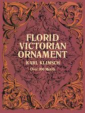 Florid Victorian Ornament by Karl Klimsch