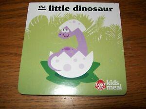 Wendy's the Little Dinosaur Hard Cardboard Paged Baby Book 0+ NWOP
