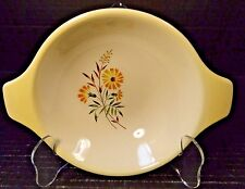 "Taylor Smith Taylor Shasta Daisy Lugged Cereal Bowl 6"" Yellow"