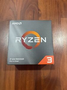 AMD Ryzen 3 3100 4-Core, 8-Thread Unlocked Processor New!!!