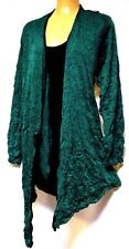 TS top TAKING SHAPE plus sz XS (14) Loden Green/Black 2 for 1 crushed funky NWT!