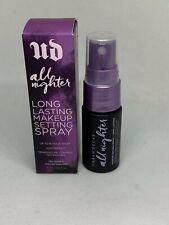 NWB Urban Decay All Nighter Makeup Setting Spray SAMPLE SIZE 0.5 oz / 15 mL