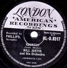 "CLASSIC R'n'R 78 BILL JUSTIS "" RAUNCHY / THE MIDNIGHT MAN "" LONDON HLS 8517 EX"